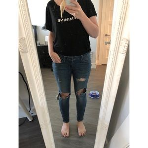 Ripped Jeans from American Eagle